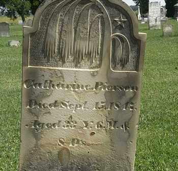 PIERSON, CATHARINE - Morrow County, Ohio   CATHARINE PIERSON - Ohio Gravestone Photos