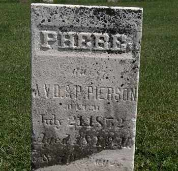 PIERSON, A.V.D. - Morrow County, Ohio | A.V.D. PIERSON - Ohio Gravestone Photos