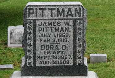 PITTMAN, JAMES W. - Morrow County, Ohio | JAMES W. PITTMAN - Ohio Gravestone Photos