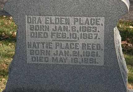 REED, HATTIE - Morrow County, Ohio | HATTIE REED - Ohio Gravestone Photos