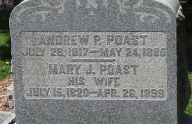 POAST, ANDREW P. - Morrow County, Ohio | ANDREW P. POAST - Ohio Gravestone Photos