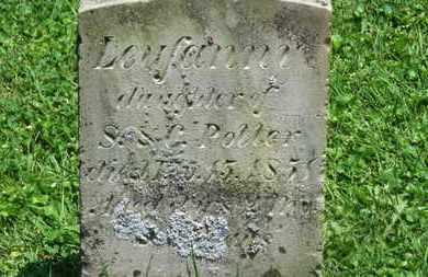 POTTER, S. - Morrow County, Ohio | S. POTTER - Ohio Gravestone Photos