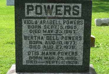 POWERS, VIOLA ARABELL - Morrow County, Ohio | VIOLA ARABELL POWERS - Ohio Gravestone Photos