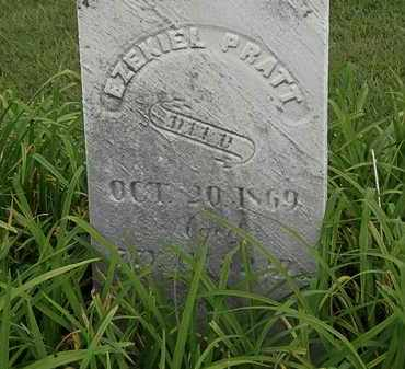 PRATT, EZEKIEL - Morrow County, Ohio   EZEKIEL PRATT - Ohio Gravestone Photos
