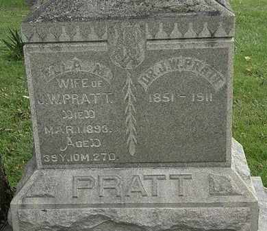 PRATT, J.W. - Morrow County, Ohio | J.W. PRATT - Ohio Gravestone Photos