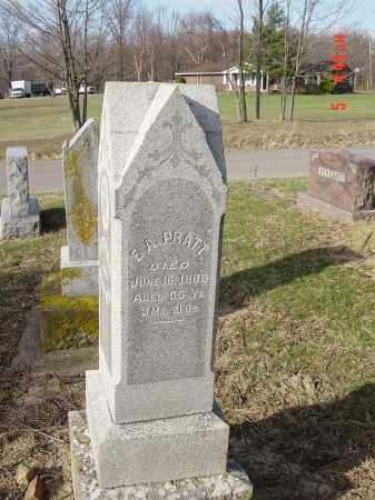 PRATT, EGBERT A. - Morrow County, Ohio | EGBERT A. PRATT - Ohio Gravestone Photos