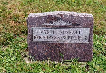 VANSICKLE PRATT, MYRTLE MAY - Morrow County, Ohio | MYRTLE MAY VANSICKLE PRATT - Ohio Gravestone Photos