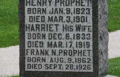 PROPHET, FRANK N. - Morrow County, Ohio | FRANK N. PROPHET - Ohio Gravestone Photos