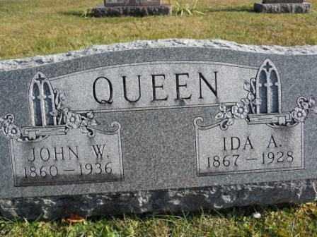 QUEEN, JOHN W - Morrow County, Ohio | JOHN W QUEEN - Ohio Gravestone Photos