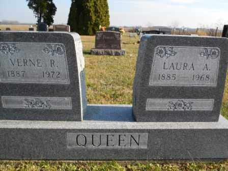 QUEEN, VERNE R - Morrow County, Ohio | VERNE R QUEEN - Ohio Gravestone Photos