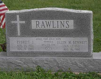 BENNETT RAWLINS, ELLEN M. - Morrow County, Ohio | ELLEN M. BENNETT RAWLINS - Ohio Gravestone Photos