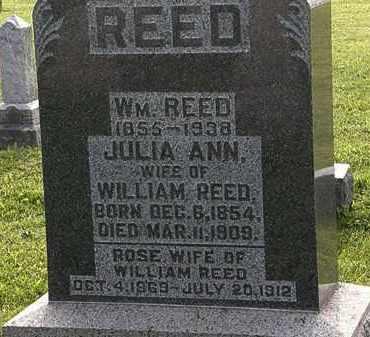 REED, WM. - Morrow County, Ohio   WM. REED - Ohio Gravestone Photos