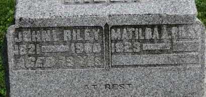 RILEY, JOHN L. - Morrow County, Ohio | JOHN L. RILEY - Ohio Gravestone Photos