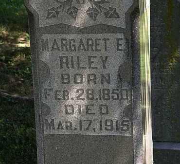 RILEY, MARGARET E. - Morrow County, Ohio | MARGARET E. RILEY - Ohio Gravestone Photos
