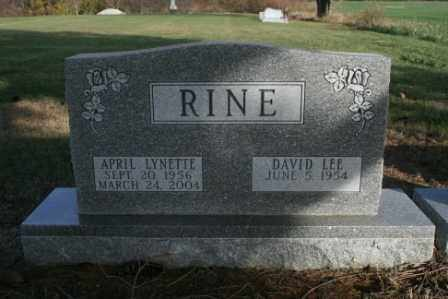 RINE, DAVID LEE - Morrow County, Ohio | DAVID LEE RINE - Ohio Gravestone Photos