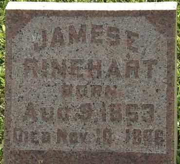RINEHART, JAMES E. - Morrow County, Ohio | JAMES E. RINEHART - Ohio Gravestone Photos