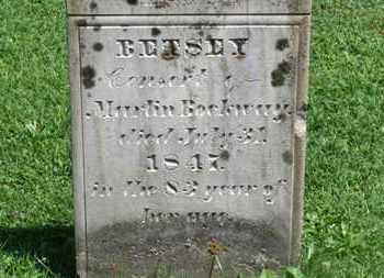 ROCKWAY, BETSEY - Morrow County, Ohio   BETSEY ROCKWAY - Ohio Gravestone Photos