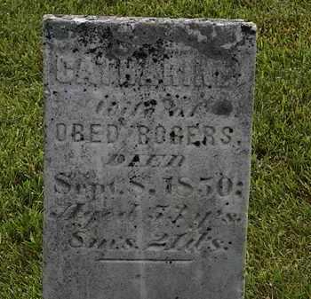 ROGERS, OBED - Morrow County, Ohio | OBED ROGERS - Ohio Gravestone Photos