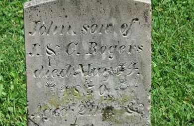 ROGERS, C. - Morrow County, Ohio   C. ROGERS - Ohio Gravestone Photos