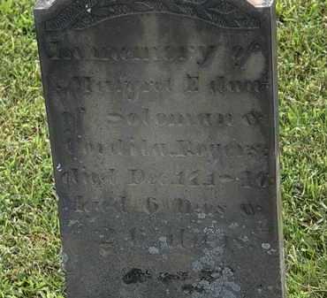 ROGERS, CORDELIA - Morrow County, Ohio | CORDELIA ROGERS - Ohio Gravestone Photos