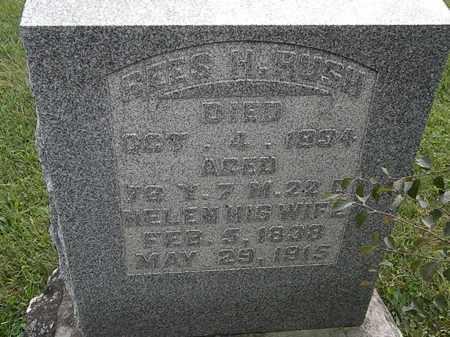 RUSH, HELEN - Morrow County, Ohio   HELEN RUSH - Ohio Gravestone Photos