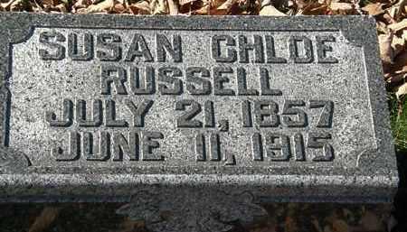 RUSSELL, SUSAN CHLOE - Morrow County, Ohio   SUSAN CHLOE RUSSELL - Ohio Gravestone Photos