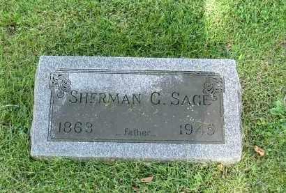 SAGE, SHERMAN GRANT - Morrow County, Ohio | SHERMAN GRANT SAGE - Ohio Gravestone Photos