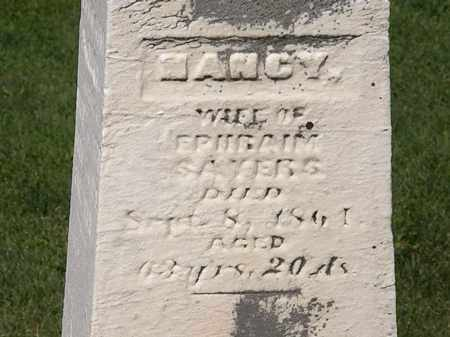 SAYERS, NANCY - Morrow County, Ohio | NANCY SAYERS - Ohio Gravestone Photos