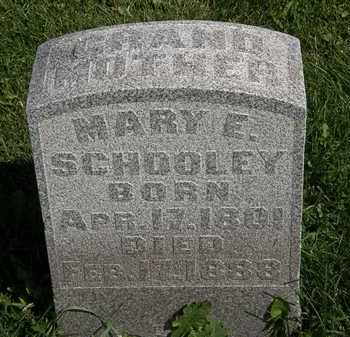 SCHOOLEY, MARY E. - Morrow County, Ohio   MARY E. SCHOOLEY - Ohio Gravestone Photos
