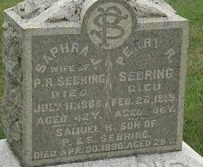 SEBRING, PERRY R. - Morrow County, Ohio | PERRY R. SEBRING - Ohio Gravestone Photos