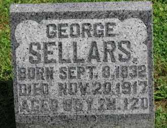 SELLARS, GEORGE - Morrow County, Ohio   GEORGE SELLARS - Ohio Gravestone Photos