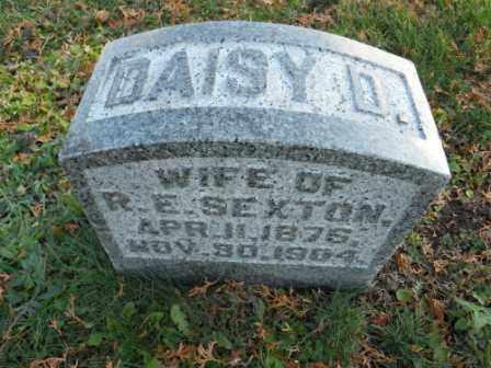 SEXTON, DAISY D - Morrow County, Ohio   DAISY D SEXTON - Ohio Gravestone Photos