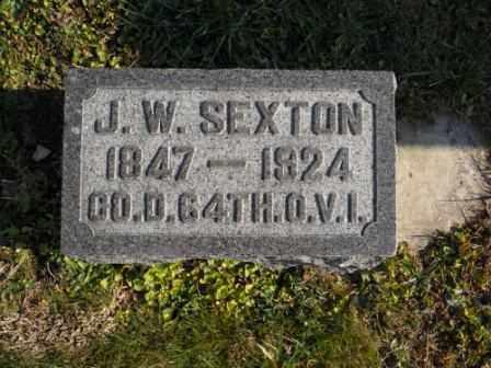 SEXTON, J.W. - Morrow County, Ohio | J.W. SEXTON - Ohio Gravestone Photos
