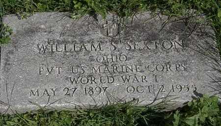 SEXTON, WILLIAM S. - Morrow County, Ohio | WILLIAM S. SEXTON - Ohio Gravestone Photos