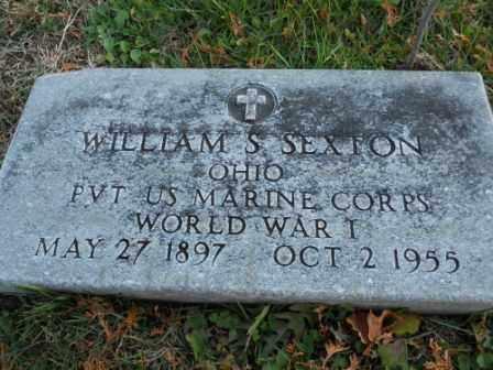SEXTON, WILLIAM S - Morrow County, Ohio | WILLIAM S SEXTON - Ohio Gravestone Photos