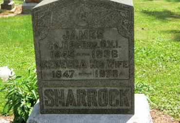 SHARROCK, JAMES - Morrow County, Ohio | JAMES SHARROCK - Ohio Gravestone Photos