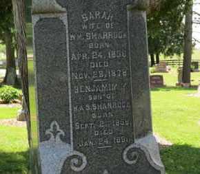 SHARROCK, SARAH - Morrow County, Ohio | SARAH SHARROCK - Ohio Gravestone Photos