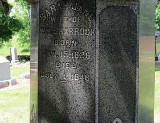 SHARROCK, SARAH JANE - Morrow County, Ohio | SARAH JANE SHARROCK - Ohio Gravestone Photos