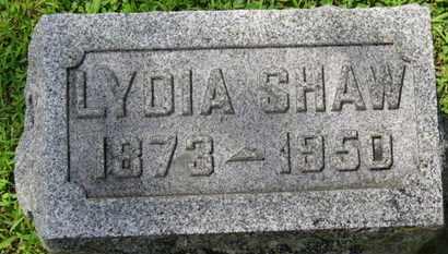 SHAW, LYDIA - Morrow County, Ohio | LYDIA SHAW - Ohio Gravestone Photos