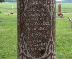SHAW, MINERVA - Morrow County, Ohio   MINERVA SHAW - Ohio Gravestone Photos