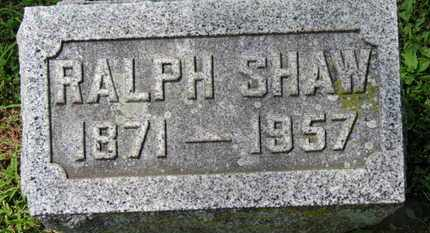 SHAW, RALPH - Morrow County, Ohio | RALPH SHAW - Ohio Gravestone Photos