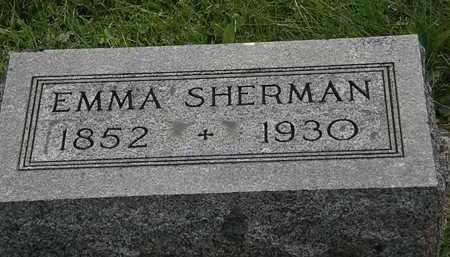 SHERMAN, EMMA - Morrow County, Ohio   EMMA SHERMAN - Ohio Gravestone Photos