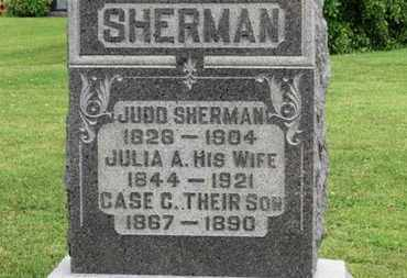 SHERMAN, JUDD - Morrow County, Ohio | JUDD SHERMAN - Ohio Gravestone Photos