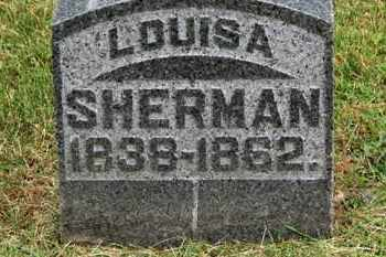 SHERMAN, LOUISA - Morrow County, Ohio | LOUISA SHERMAN - Ohio Gravestone Photos
