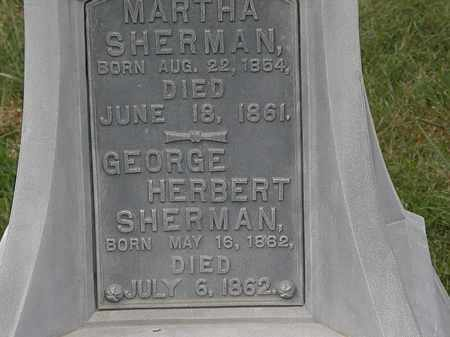 SHERMAN, GEORGE HERBERT - Morrow County, Ohio | GEORGE HERBERT SHERMAN - Ohio Gravestone Photos