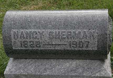 SHERMAN, NANCY - Morrow County, Ohio   NANCY SHERMAN - Ohio Gravestone Photos