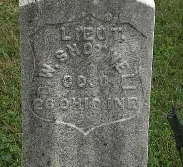 SHOTWELL, B.W. - Morrow County, Ohio   B.W. SHOTWELL - Ohio Gravestone Photos