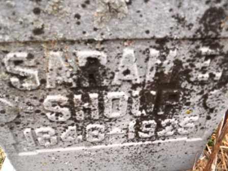 SHOUP, SARAH E - Morrow County, Ohio | SARAH E SHOUP - Ohio Gravestone Photos