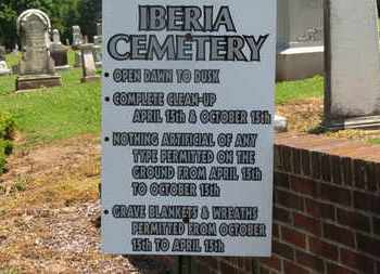 SIGN, CEMETERY - Morrow County, Ohio   CEMETERY SIGN - Ohio Gravestone Photos