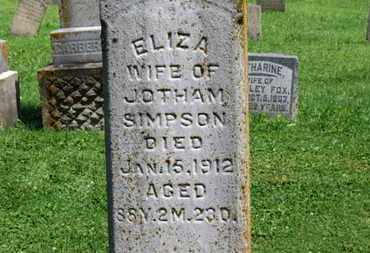 SIMPSON, JOTHAM - Morrow County, Ohio | JOTHAM SIMPSON - Ohio Gravestone Photos